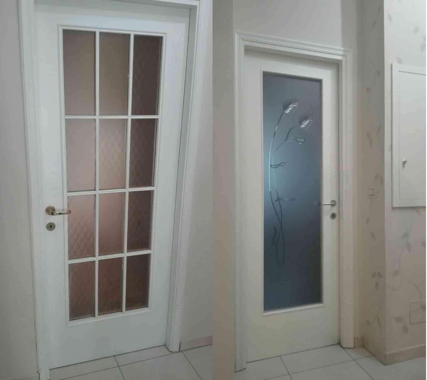 Modifica e sostituzione vetro e maniglia - Falegnameria Berardi Torino
